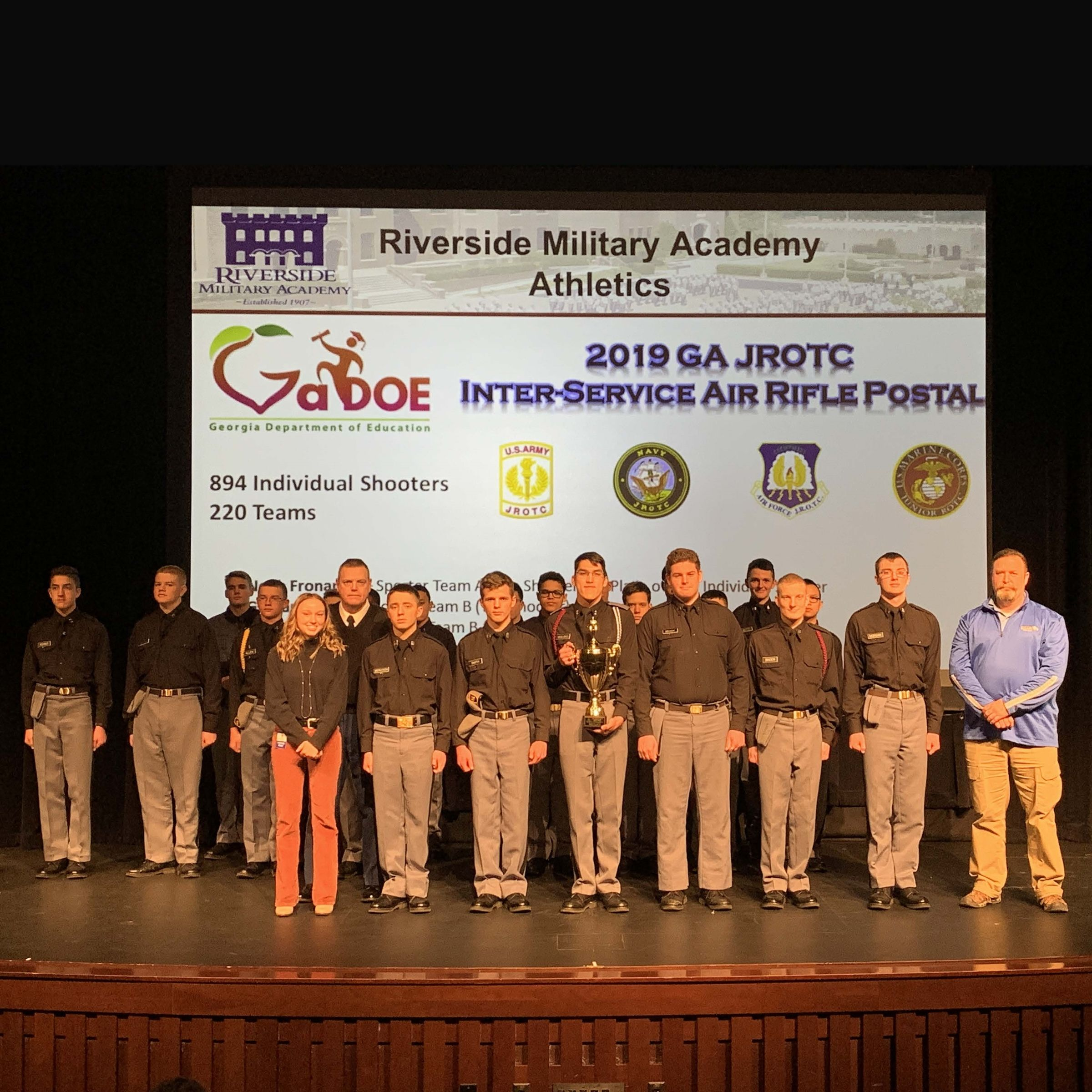 Rifle Team Makes National Championship for the First Time in RMA History
